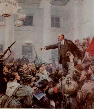 Памяти Владимира Ильича Ленина. Время, снова ленинские лозунги развихрь.
